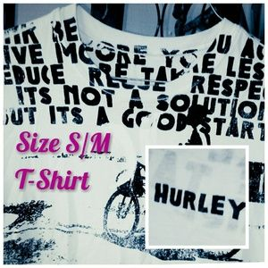 Hurley Organic Tee - Size S/M